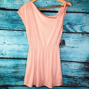 Free People Nude Pink Boho Tunic Top